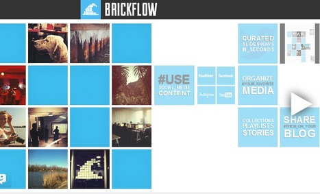 Brickflow - Turn Social Media Into Visual Stories | Pedagogy and technology of online learning | Scoop.it