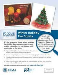 Holiday, candle and Christmas tree fire safety outreach materials | Christmas Trees and More | Scoop.it