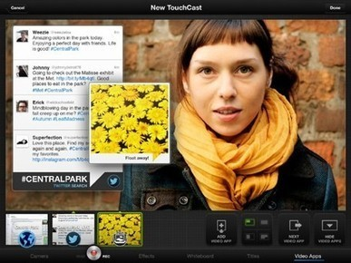 TouchCast creates an interactive presentation that mixes video with web content | iPad for Learning | Scoop.it