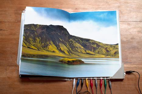 Un voyage photo et sonore en Islande, avec un livre interactif #DIY | Ressources en médiation numérique | Scoop.it