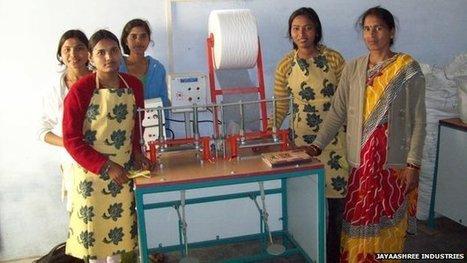 The sanitary pad revolutionary | Gender matters | Scoop.it