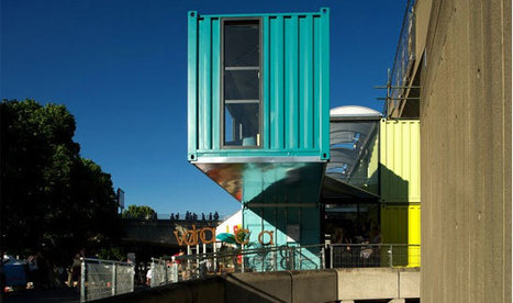London's Passion For Shipping Container Architecture Continues | Tom Stitt's Container Innovation Scoop.it! | Scoop.it