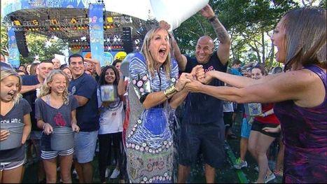 'GMA' Takes the Plunge in ALS Ice Bucket Challenge | #ALS AWARENESS #LouGehrigsDisease #PARKINSONS | Scoop.it