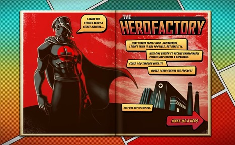 The Hero Factory | Digital Delights - Avatars, Virtual Worlds, Gamification | Scoop.it