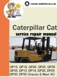 Free download manual Cat Dp25