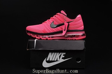 separation shoes be25d 6177c Nike Air Max 2017 Peach Black Tick Women Running Shoes   Superairmax2017-078  - £55.00   Luxury Hot Bags Hut - Original Purses  Factory Outlet Collection