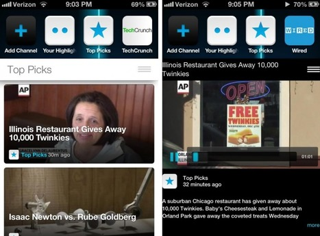 Frequency launches popular video curation app for the iPhone - Digital Trends | Kevin I Mills | Scoop.it
