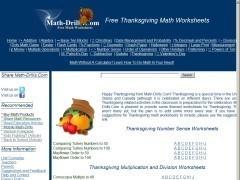Thanksgiving Themed Math Activities | ClickSchooling | Hands on Math | Scoop.it