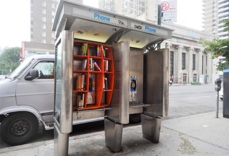 Phone Booth Pop-Up Libraries in New York City | Hotch Potch | Scoop.it