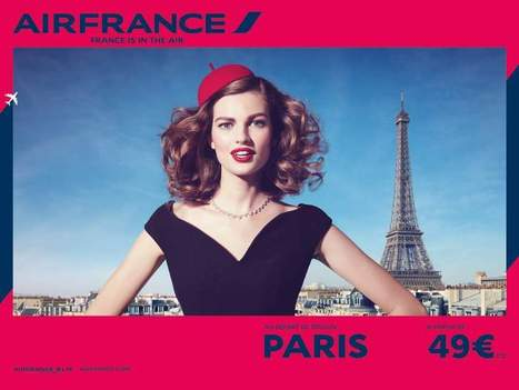 Air France remet la France au coeur de sa marque | Les eMarchands | Scoop.it