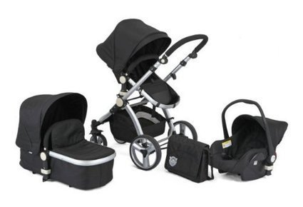 Universal Buggy Pram Pushchair Stroller Bag Carabiner Clip Hook Holder Strap LC