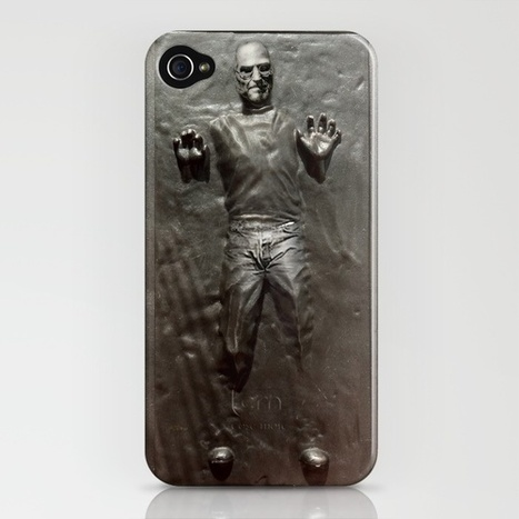 'Steve Jobs in Carbonite' iPhone Case | All Geeks | Scoop.it