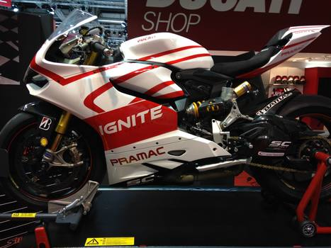 Directly from Eicma 2013: Ducati Panigale Ben Spies replica Photo Gallery | Ductalk Ducati News | Scoop.it