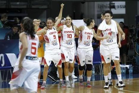 Europeo de Hungría y Rumanía: Listado de las seleccionadas españolas   Basket-2   Scoop.it