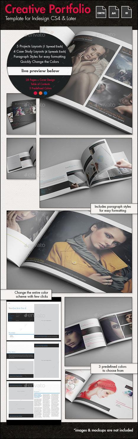 Creative Portfolio r3 - A4 Landscape | About Art & Creativity | Scoop.it