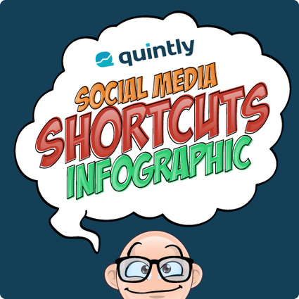 Infographic: Social Media Shortcuts Save Time On Social Platforms | Social Media Superstar | Scoop.it