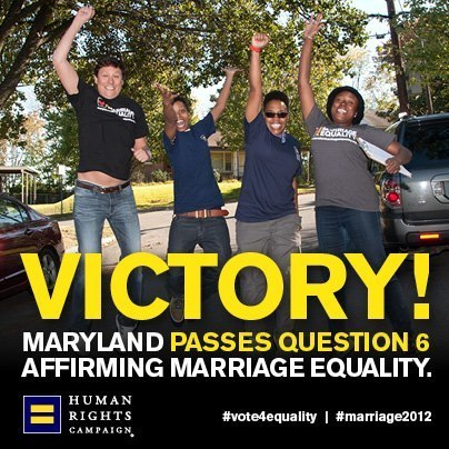 Marriage Equality in Maryland | Coffee Party Feminists | Scoop.it