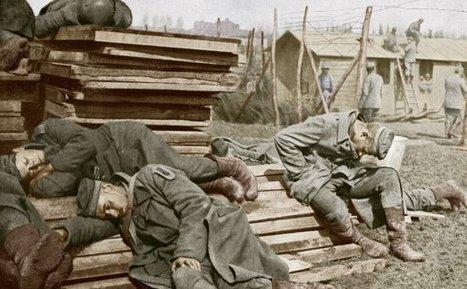La Grande Guerre en couleur - Vosges Matin | Nos Racines | Scoop.it