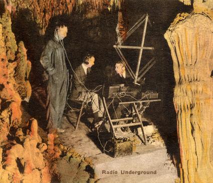 Deep caves radio listening | DESARTSONNANTS - CRÉATION SONORE ET ENVIRONNEMENT - ENVIRONMENTAL SOUND ART - PAYSAGES ET ECOLOGIE SONORE | Scoop.it
