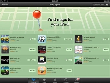 Looking for Better Maps for the iPad? There's an App Store Collection for That | KI Classroom Resources | Scoop.it