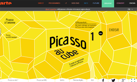 Picasso au cube : 3 façons de redécouvrir l'héritage de Picasso | histoire des arts et professeur documentaliste | Scoop.it