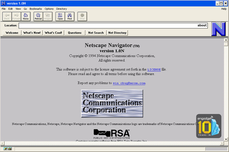 Whatever happened to Netscape? | 4D Pipeline - trends & breaking news in Visualization, Virtual Reality, Augmented Reality, 3D, Mobile, and CAD. | Scoop.it