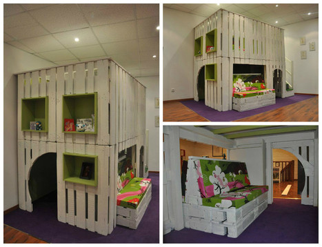 Pallet Playhouse In 1001 Pallets Ideas
