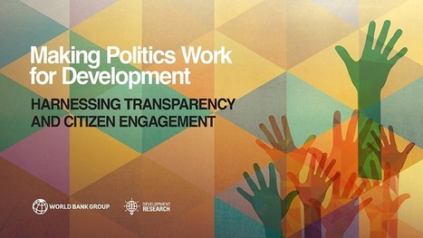 Making Politics Work for Development: Harnessing Transparency and Citizen Engagement | People & Organisational Psychology News | Scoop.it