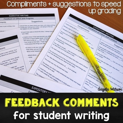 10 time-saving tips for grading student writing | BHS - Articles of Interest | Scoop.it