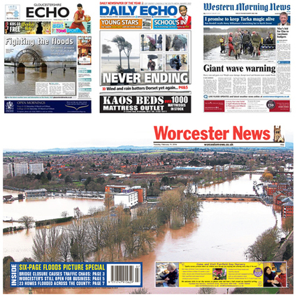 Local Media Flooding Coverage Web Traffic Rise Fuelled by Mobile Visits | newspapersoc.org.uk | Hyperlocal and Local Media | Scoop.it