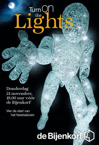 Turn on the Lights event Den Haag - de Bijenkorf   Creative Feeds   Scoop.it
