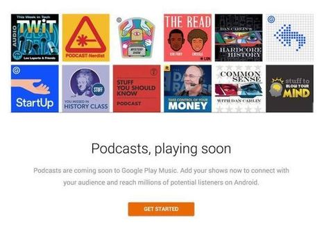 Google Brings Podcasting to Play Music, Swinging at Apple's Dominance | online radio | Scoop.it