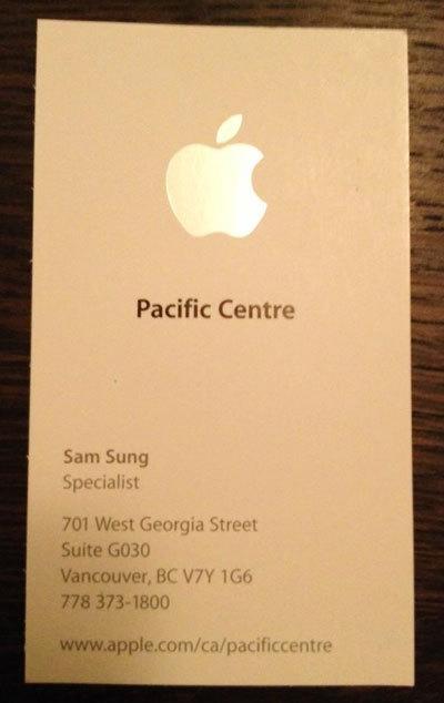 Sam Sung travaille pour Apple à Vancouver ! | Jisseo :: Imagineering & Making | Scoop.it