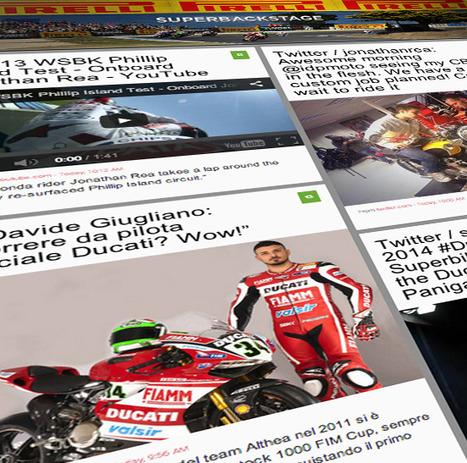 Superbackstage Pirelli Moto   Ducati & Italian Bikes   Scoop.it