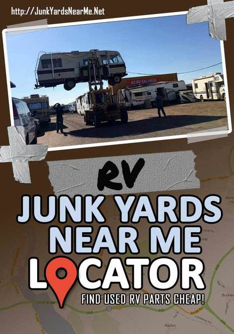 Used Parts Locator >> Rv Salvage Yards Near Me Locator Get Used Rv