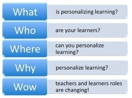Personalize Learning: The 5 W's of Personalized Learning eCourse | Mobile Learning & Content | Scoop.it