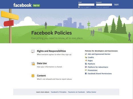 New 'Facebook Terms and Policies Hub' Answers Your Policy Questions | Life @ Work | Scoop.it