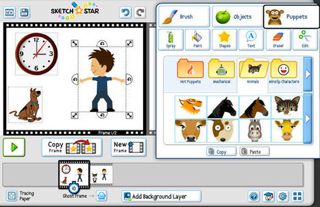 Crea divertidos cómics y animaciones con Sketch Star | Nuevas tecnologías aplicadas a la educación | Educa con TIC | Edu-Recursos 2.0 | Scoop.it