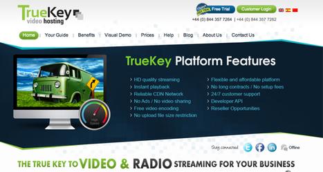 @TrueKeyVideo - Specialised in online professional video streaming   Online Video Provider (OVP) List   Scoop.it