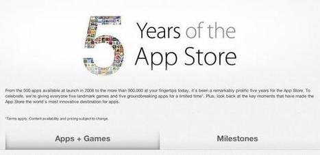 Free iPhone apps for fifth anniversary of App Store - UPI.com (blog) | Cool Apps for classroom | Scoop.it