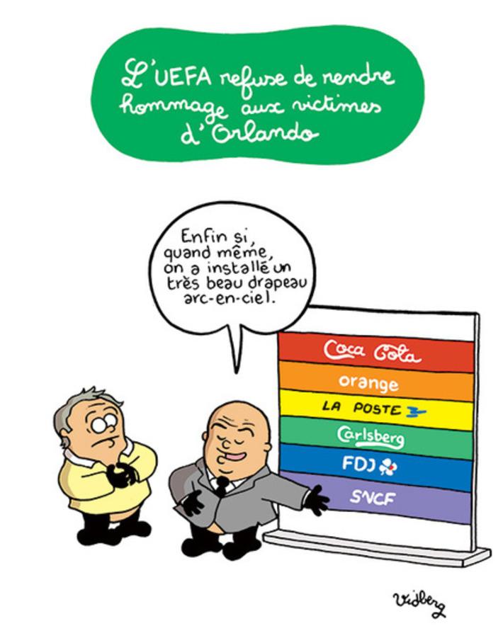 L'UEFA refuse de rendre hommage aux victimes d'Orlando | Baie d'humour | Scoop.it