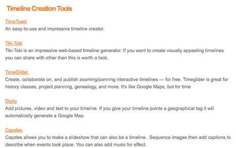 Study Vibe - Web2.0 Timeline Creation Tools | Teaching L2 Reading | Scoop.it