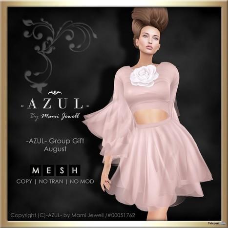 c4aebf7e7a01c Crop Top Skirt Dress Pink August 2016 Group Gift by AZUL
