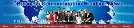Business Communication Headline News | Business Communication 2.0: Social Media and Digital Communication | Scoop.it