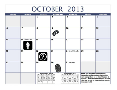 Augmented Calendars - Engage Their Minds | iPads in the classroom | Scoop.it