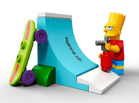 OBJETS DESIGN - Les Simpsons en version Lego® | The simpsons | Scoop.it
