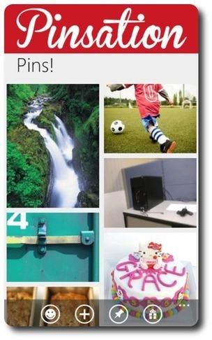 Pinsation : la première application Pinterest pour Windows Phone 7 - David Taté Technologie | SmartPh0nes | Scoop.it