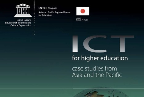 ict for higher education case studies from asia and the pacific Asia-pacific forum on instructional technology in higher education: a case of the findings of this study reveal that ict, when applied to education.