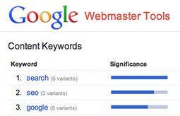 Google Webmaster Tools Content Keywords Doesn't Represent Site's Relevancy | Content Strategy |Brand Development |Organic SEO | Scoop.it