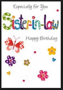 Best 13 Happy Birthday Greeting E Cards For Sister To In Law Images Free Download HD